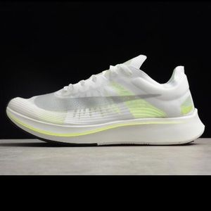 Nike Zoom Fly SP Clear Yellow Running Tennis Shoes